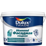 Краска фасадная водно-дисперсионная Dulux Diamond гладкая